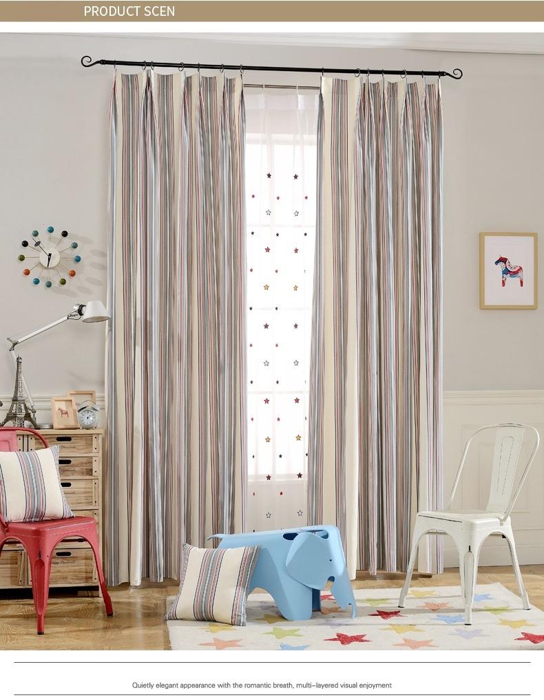 fyfuyoufy simple moderna de rayas cortina para sala de estar dormitorio sala de nios de las