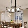 Кантри кантри люстра минималистский ресторан железа искусство идиллическая гостиная лампа Отель Ресторан лампы для вилл LU806174