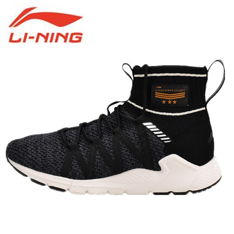 Li-Ning New 2018 Men Sport Walking Shoes Support Sneakers Sock-Like Stability Li Ning Sneakers Fitness Sports Shoes AGLN007 li ning brand new arrival lifestyle series men s running sports shoes man sport sneakers for male altk025 xmr1154