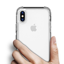 Luxury Shockproof Bumper Transparent Silicone Phone Case For iPhone X XS XR XS Max 8 7 6 6S Plus Clear protection Back Cover