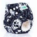 1 UNIDS Pañales Del Bebé Reutilizable Caliente imprimir Diseño F8 Impermeable PUL Insertos Para Recién Nacidos Pañales de Tela Modernos