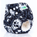 1PCS Baby Diapers Hot Reusable  print Design F8 Waterproof PUL Inserts For Newborn Modern Cloth Nappies