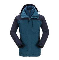 22nd 521111253 fashion new Blue long sleeve men jacket coat Autumn sports Outdoor windrunner with zipper windcheater mens