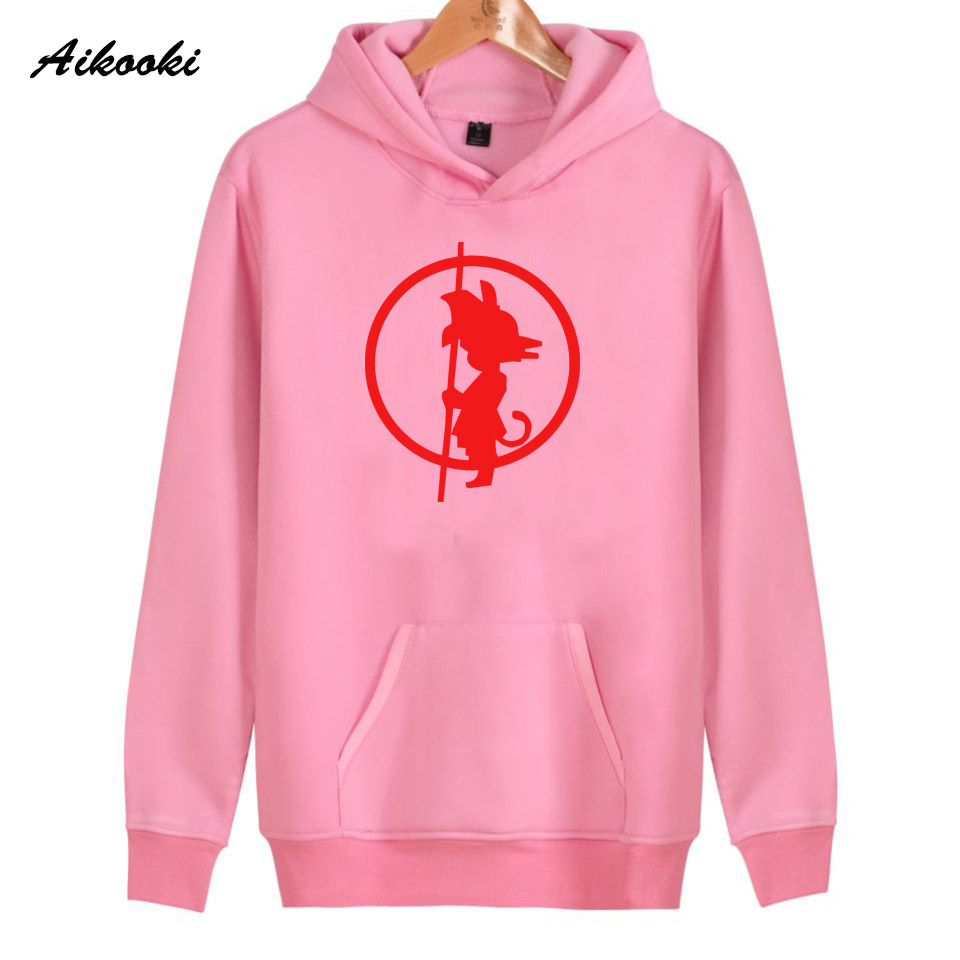2018 Aikooki dragonball goku Hoodies Women/Men Fashion Top Harajuku Cotton Womens Hoodies and Sweatshirt Casual Clothes