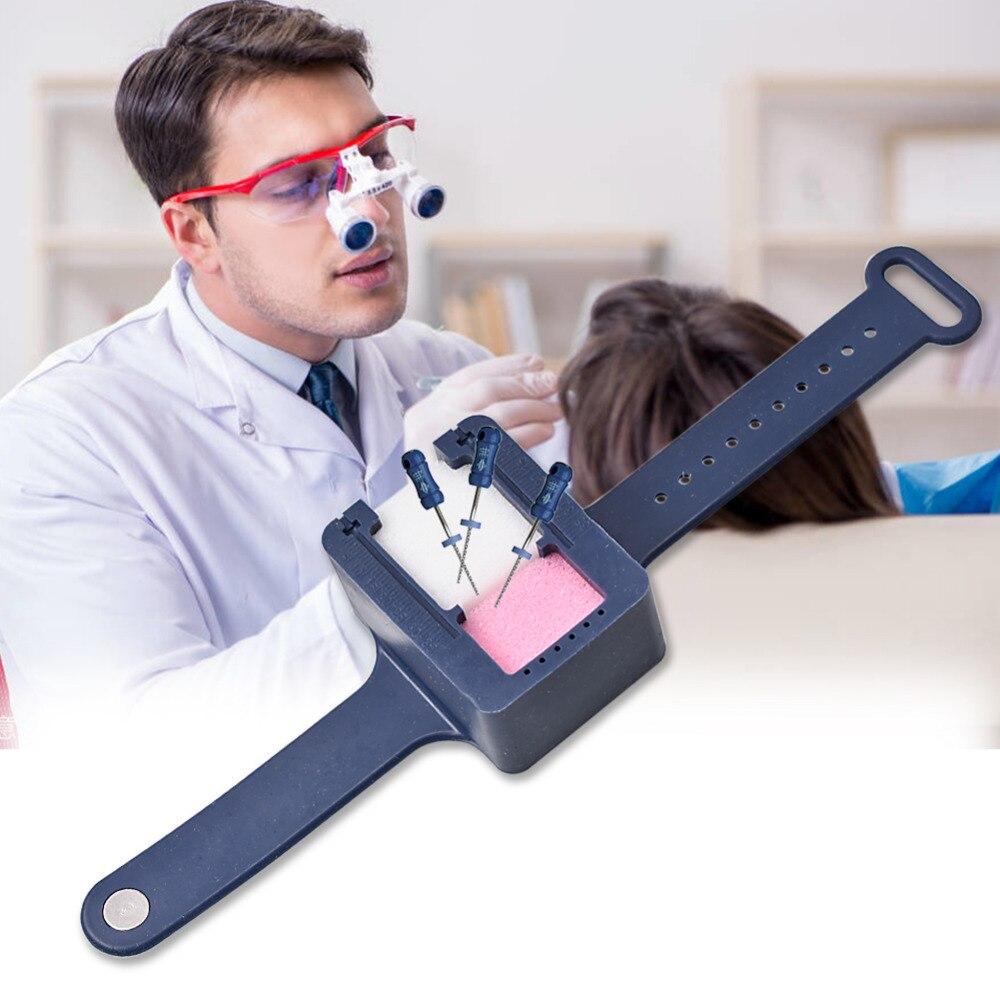 Canal da Raiz do Arquivo Desinfecção Limpeza Escala Relógio W/esponja