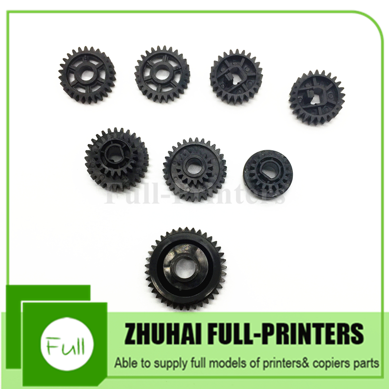 5 Sets, Drum gear 8pce/set AB01-1459 AB01-1460 AB01-1461 AB01-7612 B065-2428 B065 -2425 for Ricoh Af 1075 MP7500 2075 2060 2051