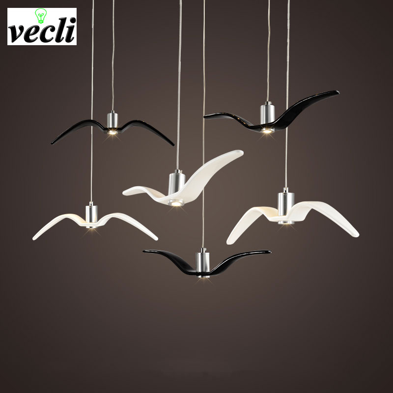Birds pendant lights vintage lamp resin bird fabric lampshade for kitchen lighting Study dining room retro loft pendant lamp edison inustrial loft vintage amber glass basin pendant lights lamp for cafe bar hall bedroom club dining room droplight decor