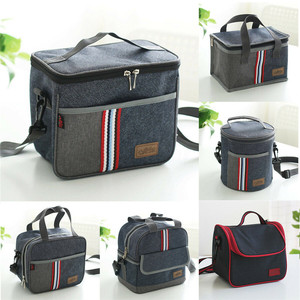 NoEnName Large Portable Cool Bag Insulated Thermal Cooler For Food Drink Lunch Picnic Bento Tote Storage Bag Case UK
