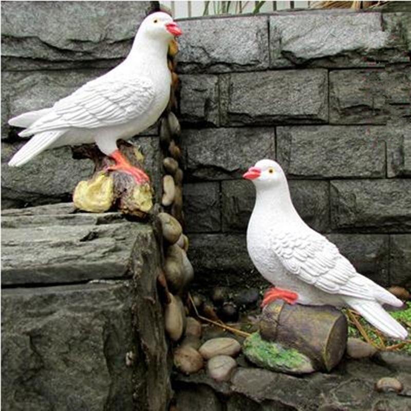 Smole ptičje obrti, simulacijski golob, vrtni okraski, vrtna - Dekor za dom - Fotografija 6