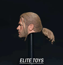 цена 1/6 Scale male man boy head play The Avengers Thor Braid Head Sculpt Model  PVC Toys Fit 12