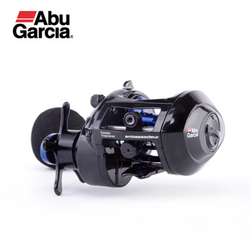 Abu Garcia SALTY MAX PLUS Right Left Hand Magnetic brake Bait Casting Fishing Reel 2+1BB 6.2:1 225g MaxDrag 5kg Baitcasting Reel цена