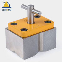 Super Strong On/Off Square Welding Magnet/ Switchable Powerful Neodymium Magnetic Clamp with V Groove Design