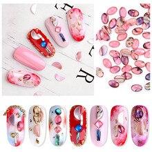 Hot sale 2pack Nail Glittering Rhinestone Beads DIY Manicure Gem Decor for Art