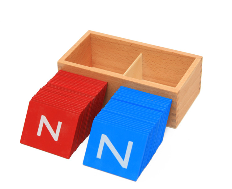 Capital Letters In Boxes