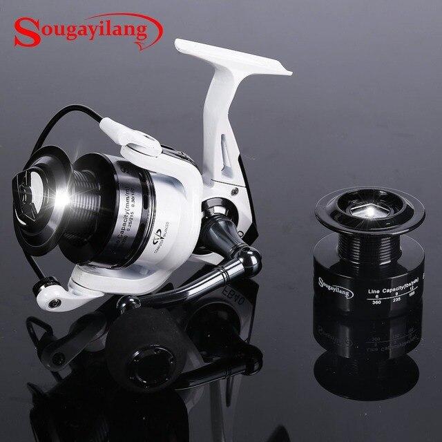sougayilang spinning fishing reel fb2000 5000 fish coil wheel baitcasting fishing reel spinning reel with