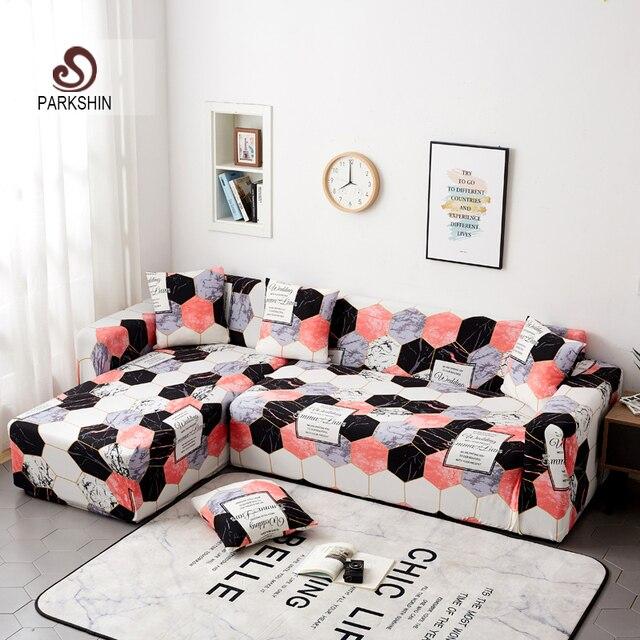 Nortic чехлы для диванов Parkshin, полноразмерные Нескользящие секционные эластичные чехлы для диванов, для 1/2/3/4 местного дивана