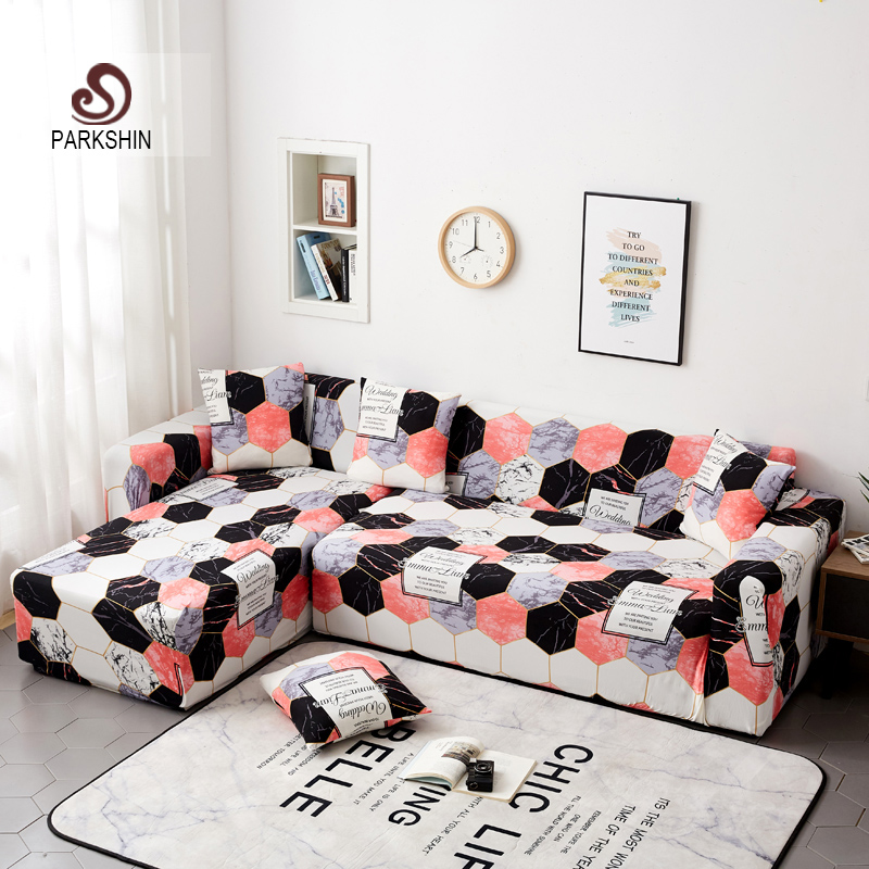 Parkshin Nortic Slipcovers Sofa cover all inclusive slip resistant sectional elastic full Couch Cover sofa Towe 1/2/3/4 seater-in Sofa Cover from Home & Garden