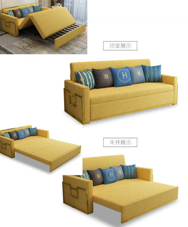 Linen Hemp Fabric Sectional Sofas