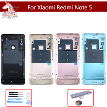10pcs Original For Xiaomi Redmi Note 5/ Note 5 Pro Battery Back Cover Rear Door Housing Side Key Replacement Repair Spare Parts for xiaomi redmi 6 battery back cover metal rear door housing side key for redmi6 replacement repair spare