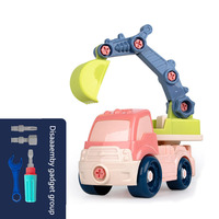One Set Big Car Toys Diecast Vehicle Set Construction Excavator Engineering Vehicle Kit Kids Toy Simulation Car Send Removal Kit