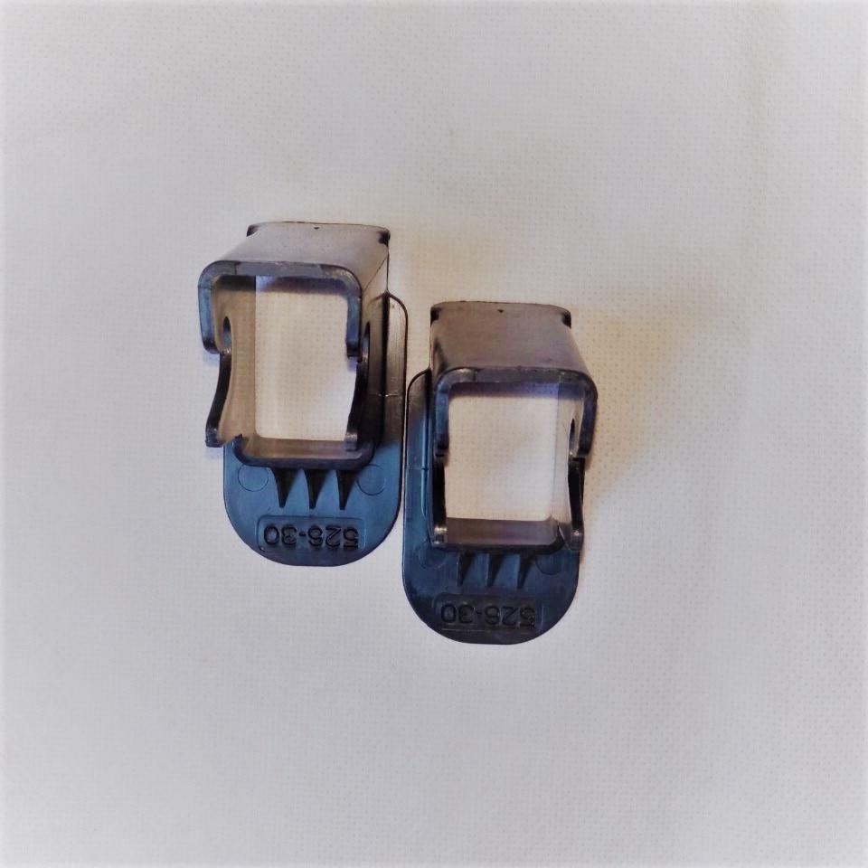2 piezas de guía de cierre negro! Asientos de seguridad para niños - Accesorios de interior de coche - foto 1