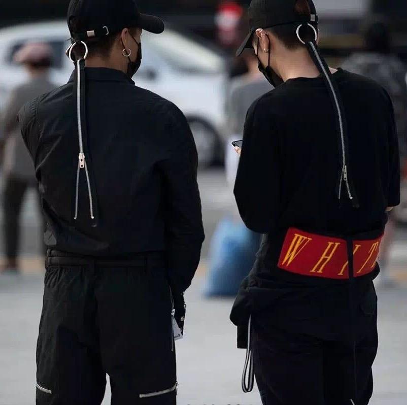 Prix pour Hip Hop Peaceminusone Gd Unisexe Solide Courbe Chapeaux Casquette de baseball Hommes Femmes Snapback Caps Casquette Gorras