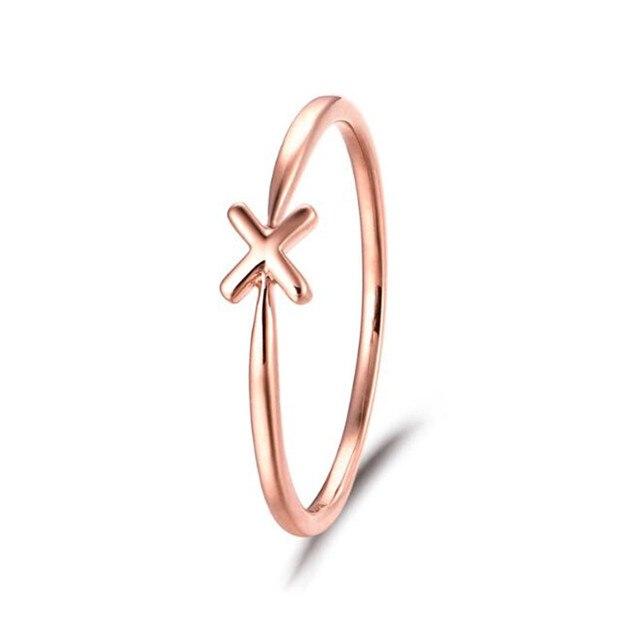 100% Genuine 18K Gold Cross Finger Rings For Women Men Unisex Retro Ring Fine Jewelry Gift 1.09G