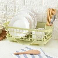 Plastic Kitchen Shelf Rack Drying Drain Storage Holders Kitchen Plate Dish Cutlery Cup Drain Rack Kitchen Organizer Home Storage