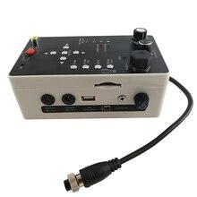 DVR блок управления запчасти Пульт дистанционного управления DVR панель для трубопровода Инспекционная камера системы