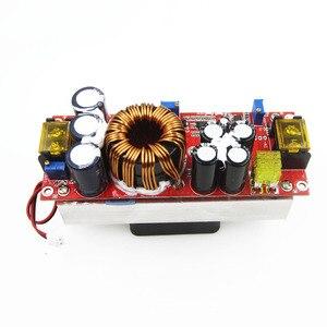 Image 3 - 1800W 40A 1500W 30A 1200W 20A DC DC Boost Converter zwiększona moc moduł zasilający 10 60V do 12 90V regulowane napięcie ładowarka