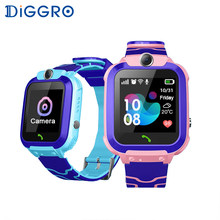 Diggro S12 Kids Smart Watch SOS Anti Lost Waterproof Baby 2G SIM Card Clock Calling Smartwatch PK Q50(China)