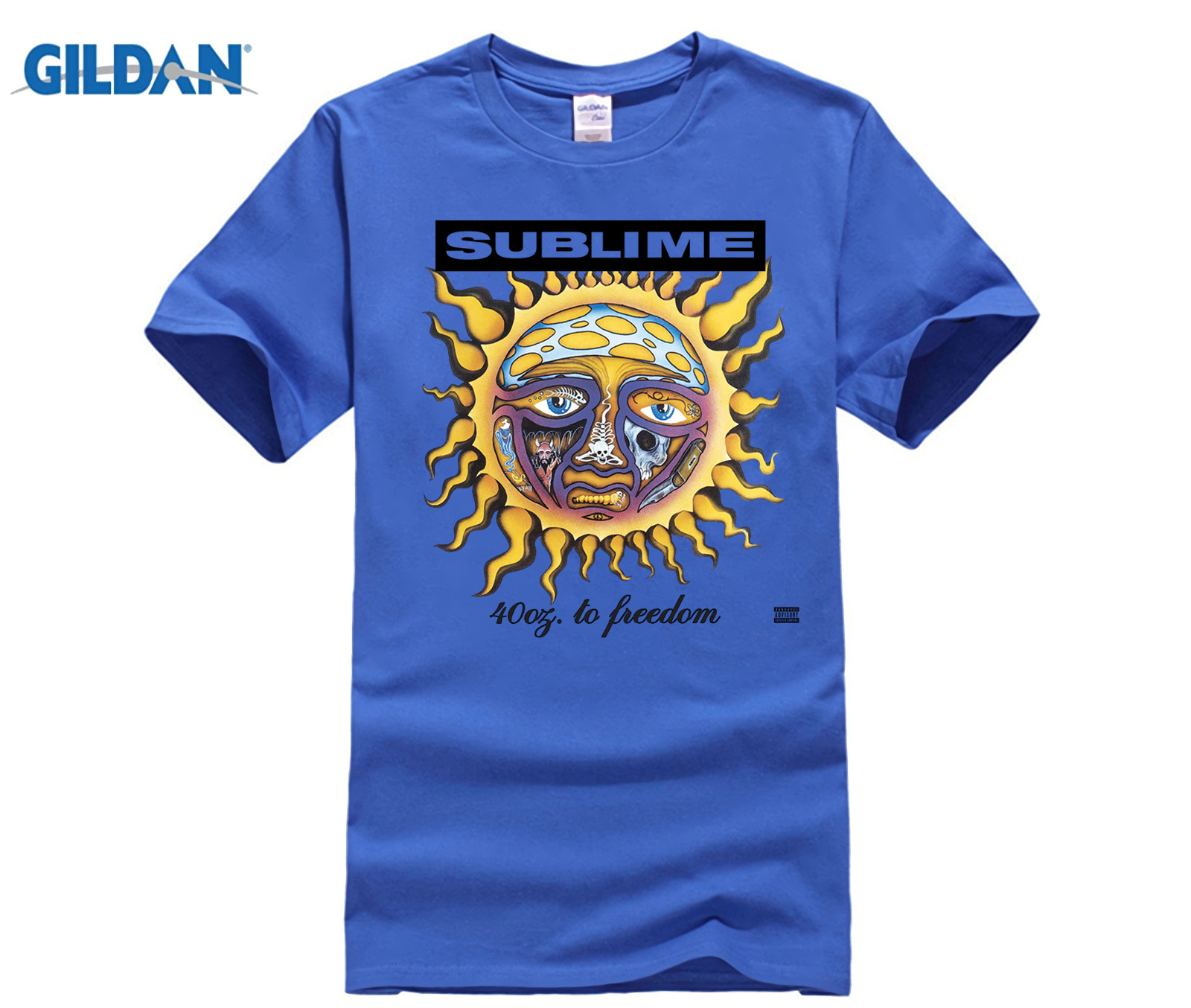4a9b3733a Gildan New Sublime 40 Oz. To Freedom Rock Band White men t shirt-in T-Shirts  from Men's Clothing on Aliexpress.com | Alibaba Group