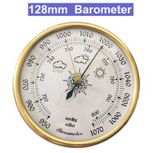 128mm 950~1070 hpa Wall mounted household thermometer hygrometer air weather tester instrument barometers