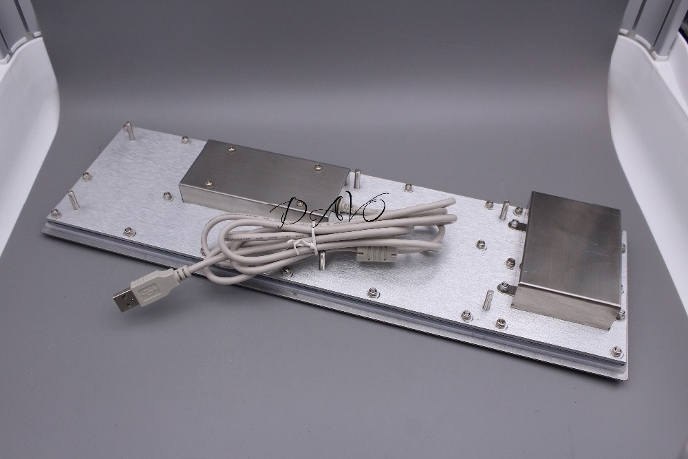 Metalen touchpad Toetsenbord Druk op het toetsenbord Kiosk Metalen - Computerrandapparatuur - Foto 4