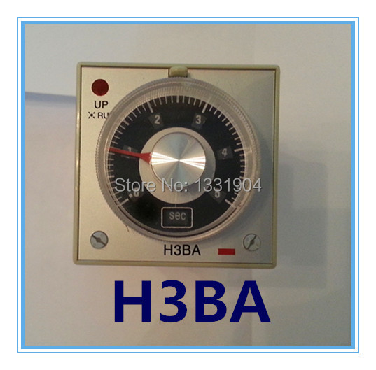 H3BA ST4P DC AC  timer relay 12 volt 24v,220NAC, time switch, relay, timing relay, 8 pins sinotimer 12v ac dc control power timer 50 hz 24 hours timer switch control high quality time relay electronic instrument