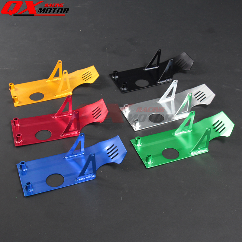Skid Plate Engine Case Protection special for XR50 CRF50 XR CRF 50 SDG SSR Coolster 70 90 110 125CC Pit Dirt Bike Aluminum