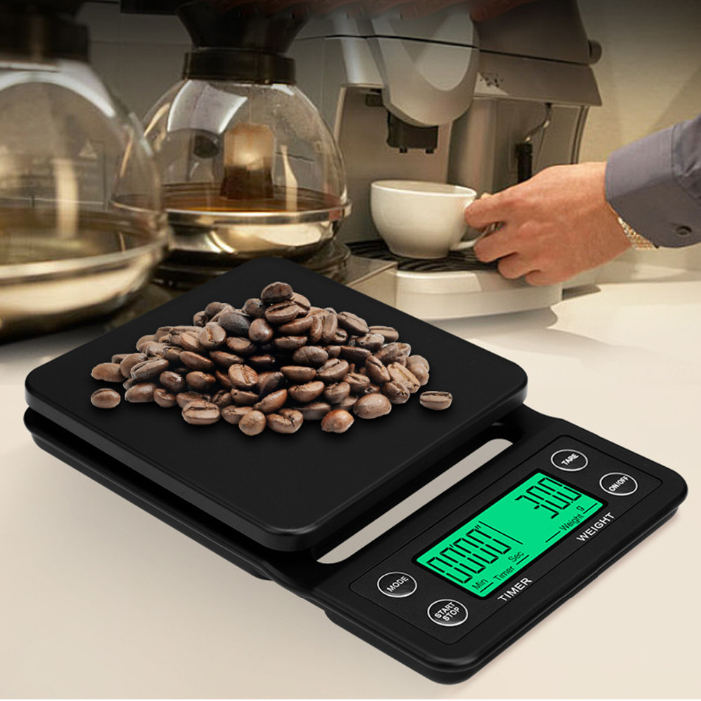 Kitchen Scales Hearty 3/5kg/0.1g Portable Digital Scale Led Electronic Scales Postal Food Balance Measuring Kitchen Led Electronic Scales Factory Direct Selling Price