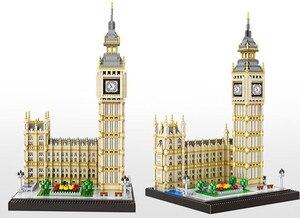 Image 3 - 3600Pcs Beroemde Architectonische Serie Londen Big Ben Te Monteren Blokken Bouwstenen Bricks Compatibel Alle Merk