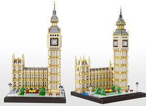 Image 3 - Blocs de construction, 3600 pièces, série architecturale londonienne, Big Ben à assembler, blocs de construction, briques compatibles avec toutes les marques