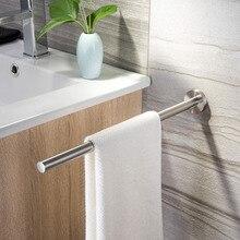 Uchwyt na ręczniki ZUNTO 40cm 304 uchwyt na ręcznik łazienkowy ze stali nierdzewnej na ręczniki wieszak na szynę Bar 2019 nowy wieszak na ręczniki