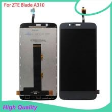 Высокое качество для zte лезвие A310 ЖК-дисплей Дисплей Сенсорный экран мобильного телефона Запчасти с бесплатными инструментами