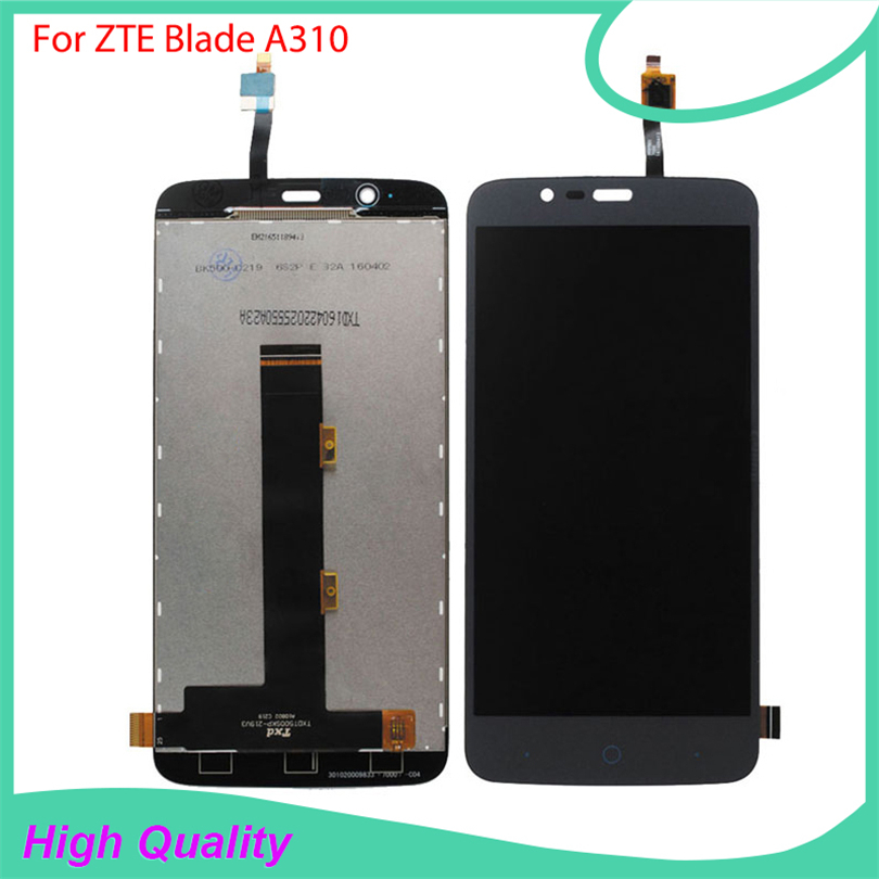 High Quality For ZTE Blade A310 LCD Display Touch Screen Mobile Phone Parts With Free Tools
