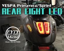 ไฟ LED ด้านหลังสำหรับ piaggio vespa Primavera 150 Sprint 150 Tail Light Assembly