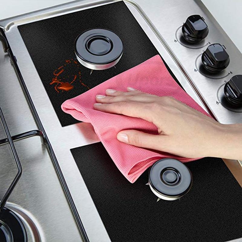 UPORS-4Pcs-Set-Stove-Protector-Cover-27-27cm-Reusable-Teflon-Gas-Stove-Cover-Non-Stick-Dishwasher (4)
