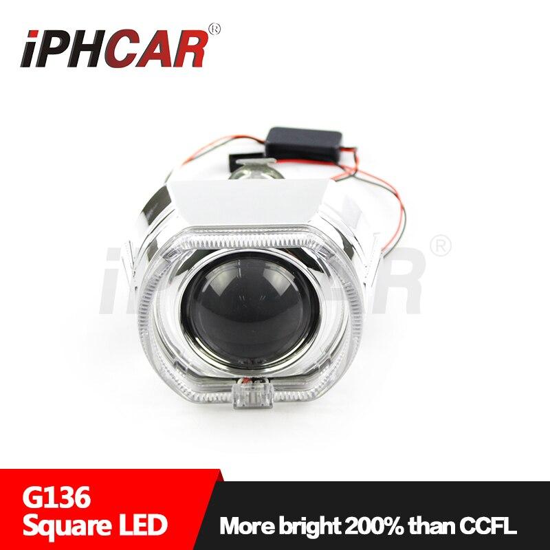 Бесплатная доставка IPHCAR спрятал проектор объектив 2,5 дюймовый высокая низкая Луч автомобиль Stying авто и техническое Дооснащение