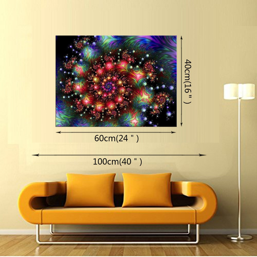 1 Panel Large Abstract The Helix Nebula Canvas Print Painting Modern ...