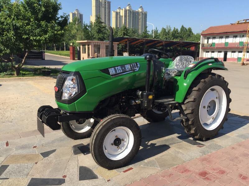 55лошадиная сила и 4WD трактор с мощность hydraulic правило управления