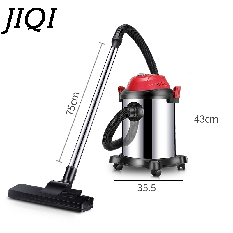 Vacuum cleaner powerful handheld aspirator dust catcher Collector barrel type Dry and wet blow industrial quiet vacuum sweepter jiqi vacuum cleaner household handheld wet and dry blow large power ultra strong silent barrel type 15l large capacity