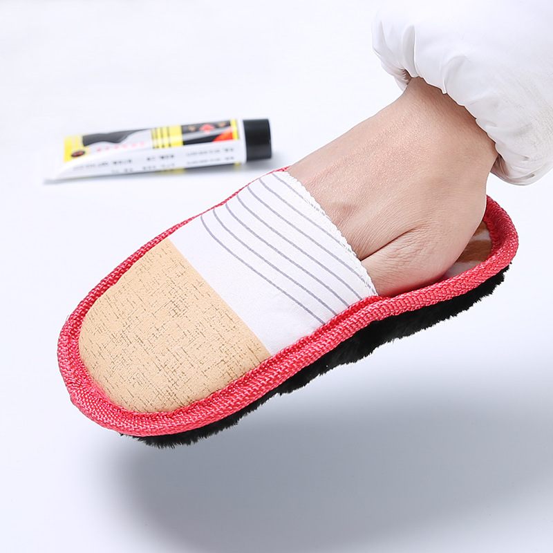 2pcs Multifunctional Soft Suede Plush Wipe Shoe Brush Cleaning Gloves Shoes Cleaner Furniture Briefcase Leather Sofa Care Brush
