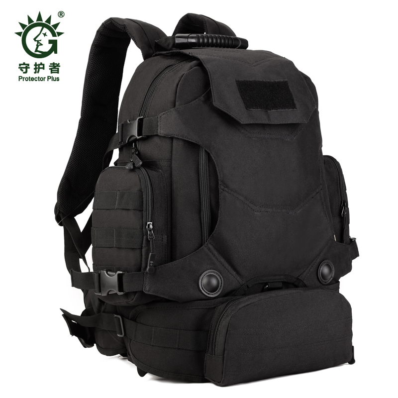 40L Military black Backpack Army molle Camouflage Travel Military Rucksacks Backpacks Army Bag new stylish outdoors military tactics bag acu cp camouflage army black men bag camp mountaineer travel duffel messenger bag